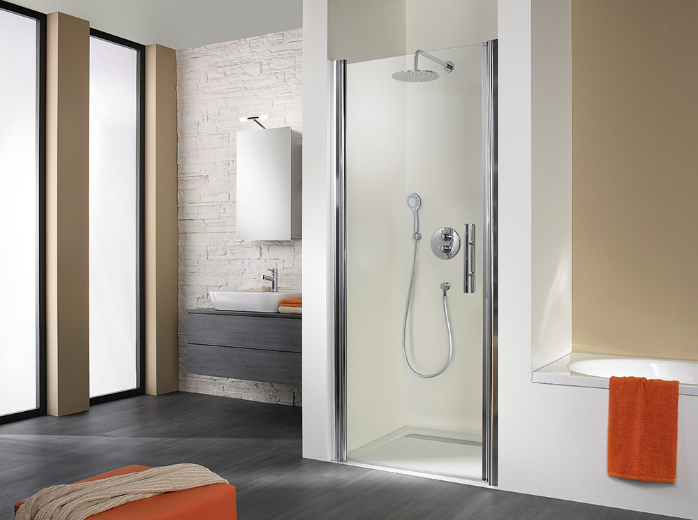 hsk duschkabinen komplettset nischenl sung exklusiv bad. Black Bedroom Furniture Sets. Home Design Ideas