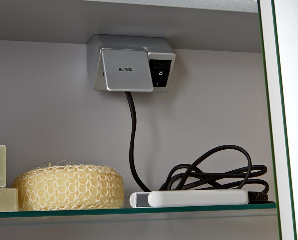 badm bel set waschtisch mit led spiegelschrank scanbad bad elegant. Black Bedroom Furniture Sets. Home Design Ideas