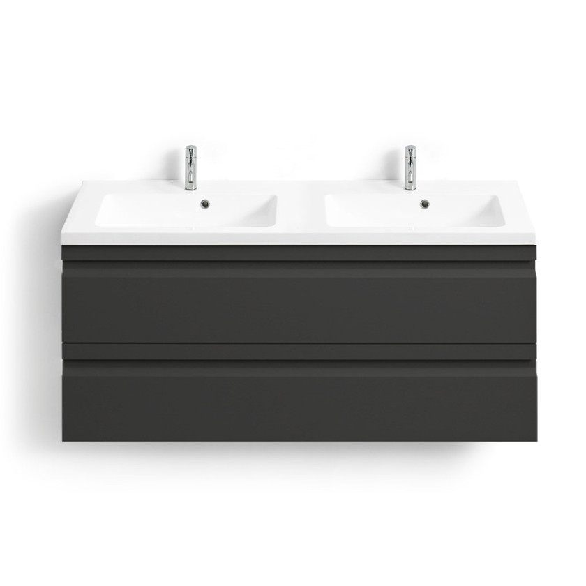 doppelwaschtisch mit unterschrank allegro dsc dansani bad elegant. Black Bedroom Furniture Sets. Home Design Ideas