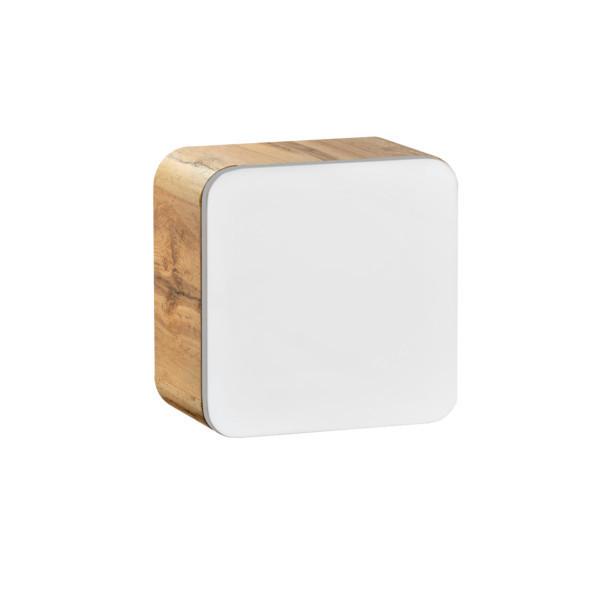 Comad ARUBA Cube Hängeschrank Würfel 40x40cm Weiß Hochglanz