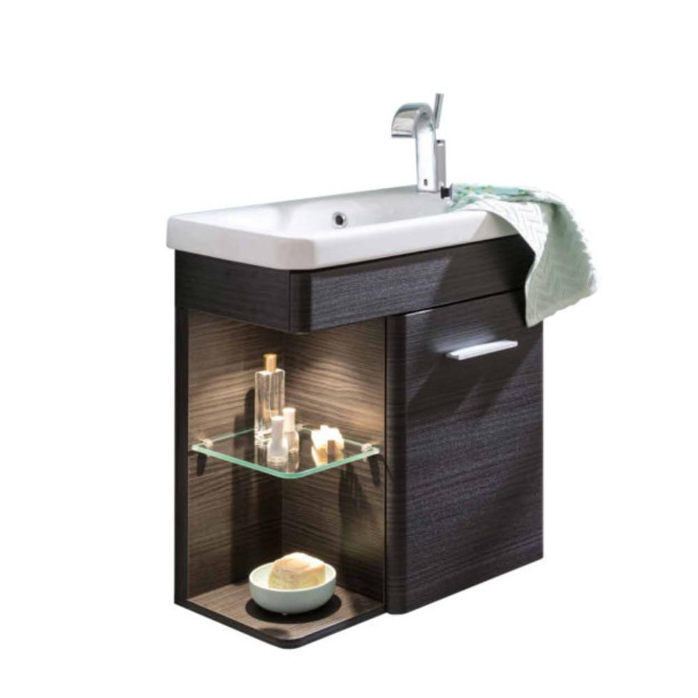 Lanzet K8 Gästebad Waschtisch Mit Unterschrank 60cm 5 Dekore Bad