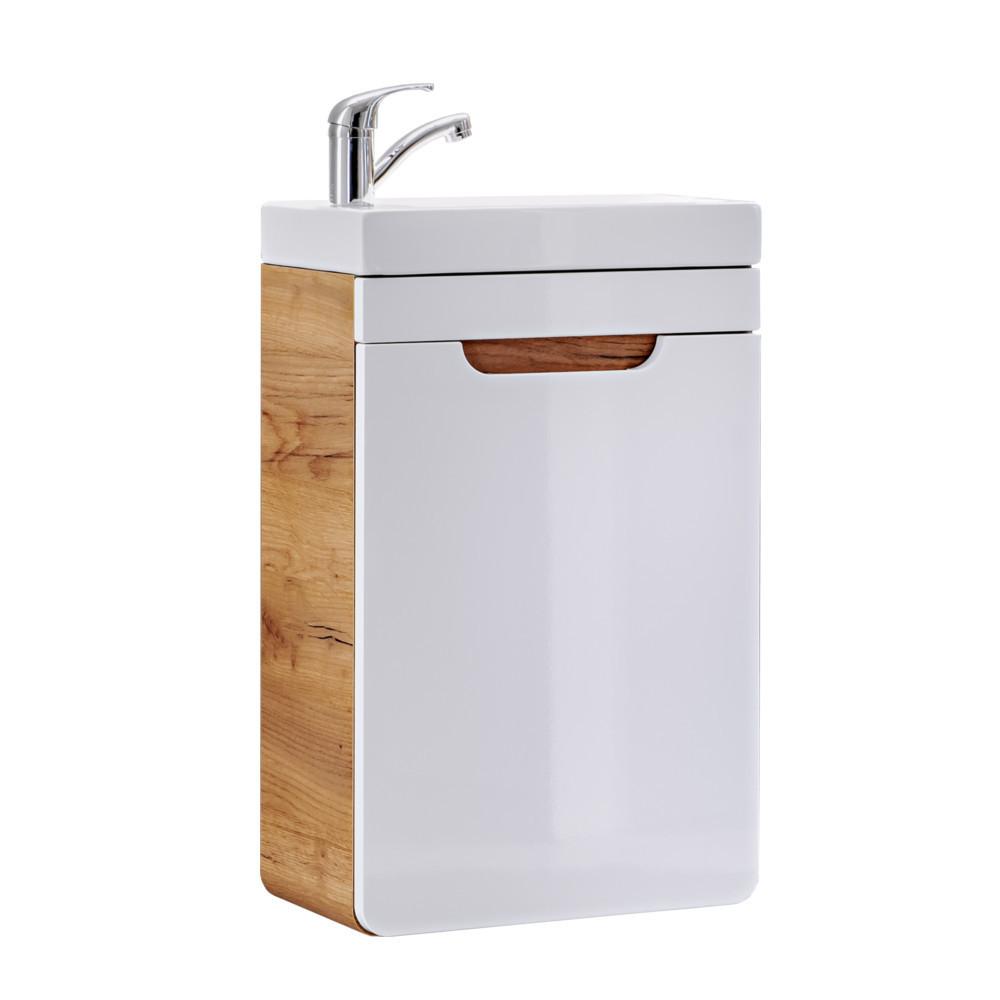 Comad ARUBA Gäste WC Waschtisch mit Unterschrank 40cm
